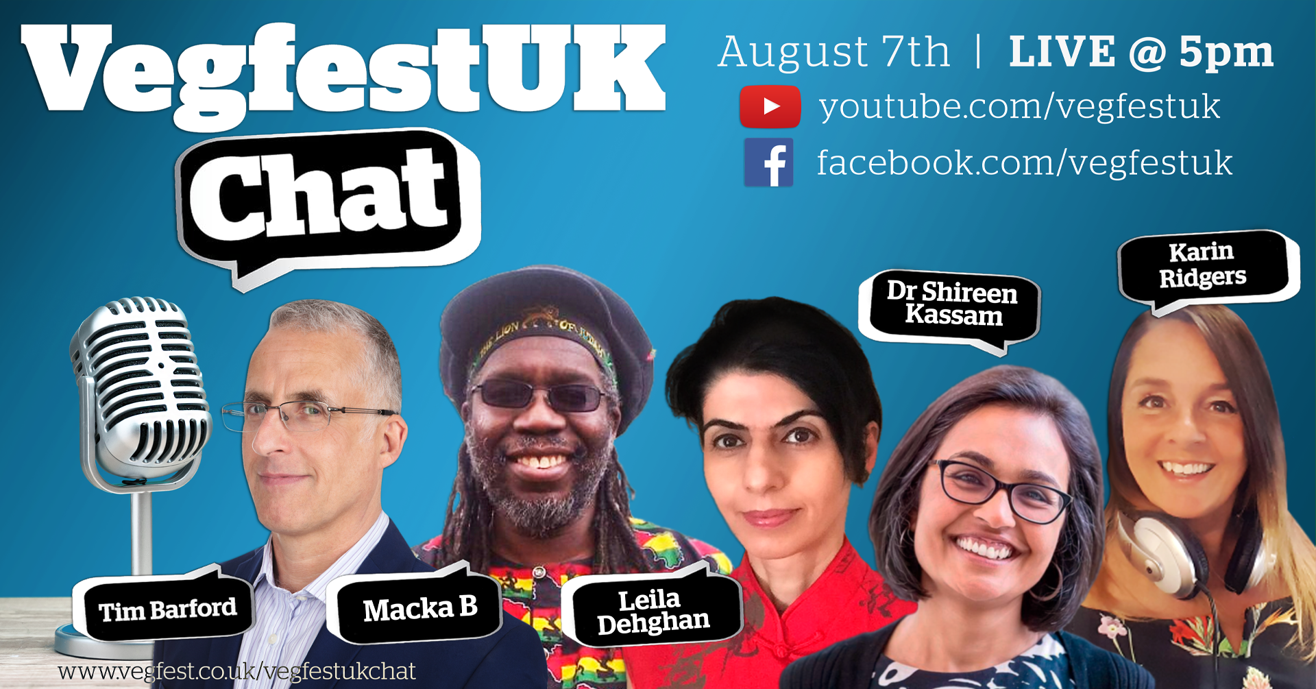 VegfestUK Chat episode 6 coming this Friday, and it's a Summerfest special!